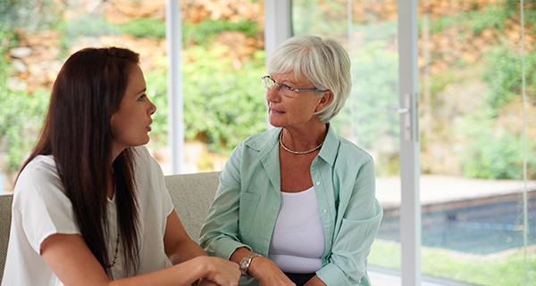 Learn tips to address aging parent's safety at home.