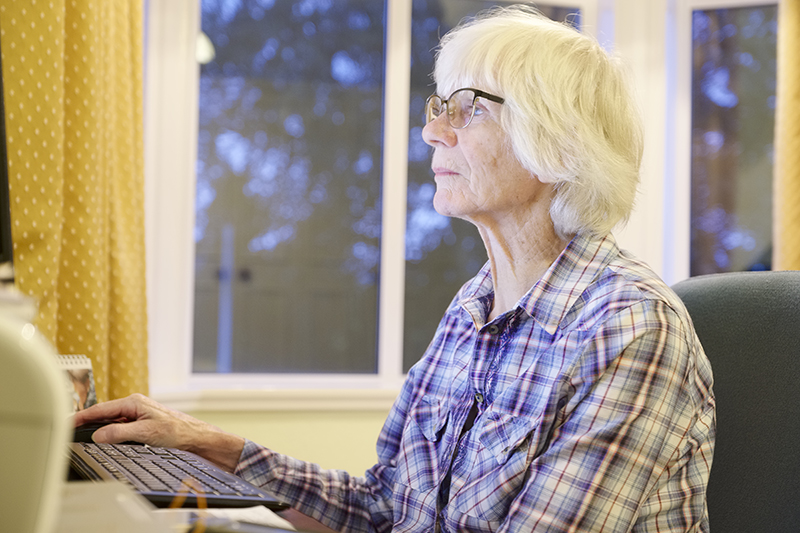 Scamming the Elderly Online